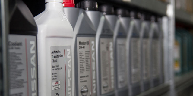 Масла и сервисные жидкости для ТО Nissan и Infiniti