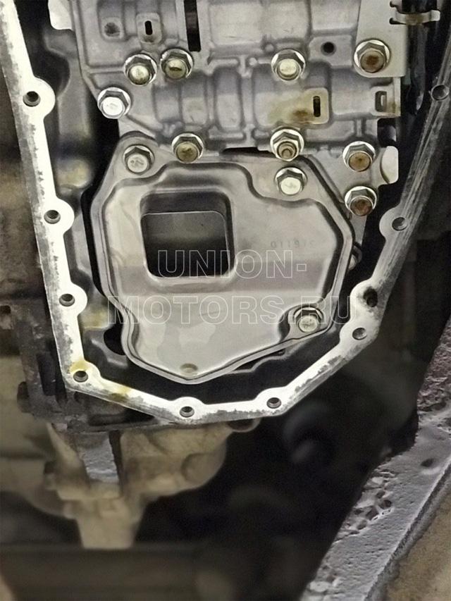 Внутренний фильтр-сетка после очистки при полной замене масла АКПП Nissan/Infiniti