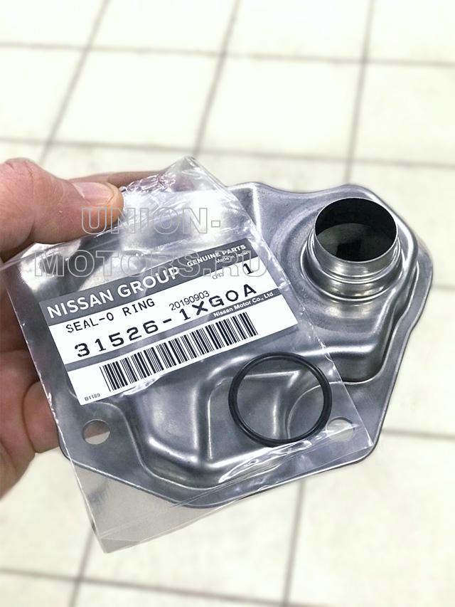 Новая прокладка внутреннего сетчатого фильтра для полной аппаратной замене масла АКПП Nissan и Infiniti