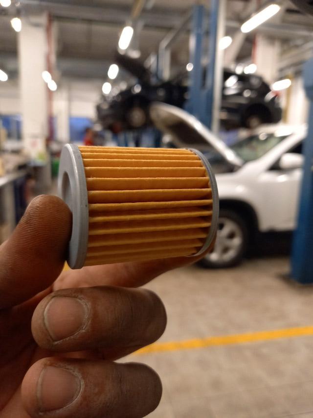 Новый внешний фильтр АКПП для полной замене масла АКПП Nissan/Infiniti